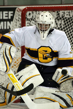 Canisius goaltender Tony Capobianco. (Canisius Athletics)