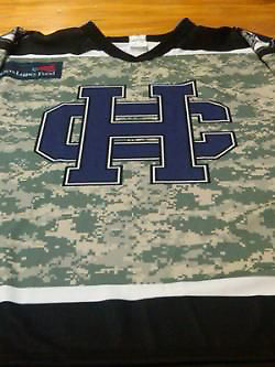 The jersey Holy Cross will wear Dec. 10, 2011, against Army. (Holy Cross Athletics)