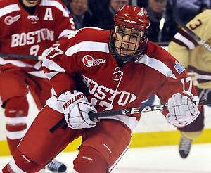 Boston University's Matt Nieto (Dan Hickling)