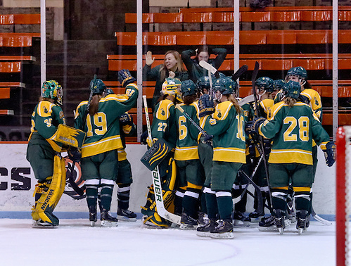 Clarkson defeated Princeton 2-1 at Hobey Baker Rink in Princeton, NJ. (Shelley M. Szwast)