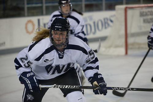 Players on the 2012-2013 All-USCHO D-I Women's teams (Alexis Crossley). (Tim Brule)