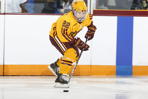 Players on the 2012-2013 All-USCHO D-I Women's teams (Hannah Brandt). (Tim Brule)