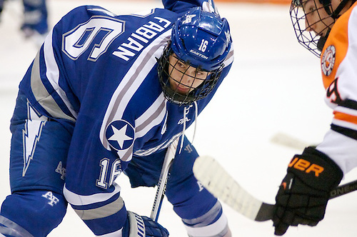 Jason Fabian (16) - Air Force Falcons defeated the RIT Tigers 2-0 in Rochester, NY on November 1, 2013 (Omar Phillips)