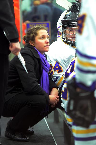 Williams coach Meghan Gillis (Tim Brule)