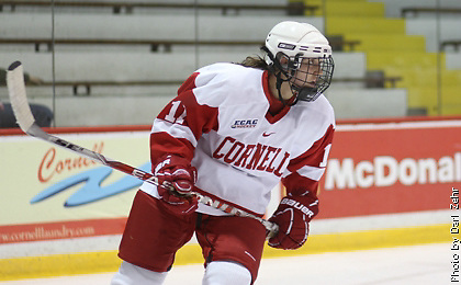 Players on the 2012-2013 All-USCHO D-I Women's teams (Brianne Jenner). (Tim Brule)