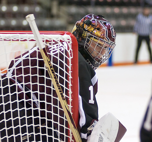 Shenae Lundberg (1 - Union) made 40 saves in a 2-1 loss at RIT (Omar Phillips)