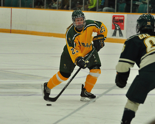 Players on the 2012-2013 All-USCHO D-I Women's teams (Erin Ambrose). (Tim Brule)