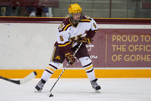 10 Dec 11: Amanda Kessel (Minnesota - 8)  The University of Minnesota Golden Gophers host the Ohio State Buckeyes in a WCHA (Women's) match up at Ridder Arena in Minneapolis, MN. (Jim Rosvold)