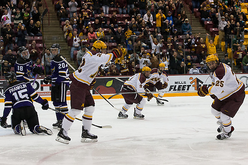 17 Nov 16:  The University of Minnesota Golden Gophers host the Minnesota State University Mavericks in a non-conference matchup at Mariucci Arena in Mankato, MN. (Jim Rosvold/University of Minnesota)