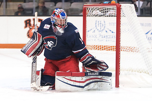 Jessica Dodds (1 - Robert Morris) had 29 saves in a 4-0 shutout win at RIT (Omar Phillips)