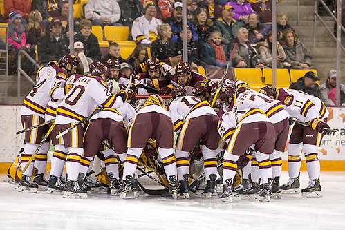 7 Jan 17:  The University of Minnesota Duluth Bulldogs host the Colorado College Tigers in an NCHC match up at Amsoil Arena in Duluth, MN. (Jim Rosvold)