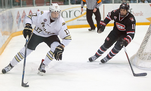 Griffen Molino (Western Michigan-17) 16 Jan. 23 St. Cloud State University and Western Michigan meet in a NCHC conference match-up at the Herb Brooks National Hockey Center in St. Cloud, MN (Bradley K. Olson)