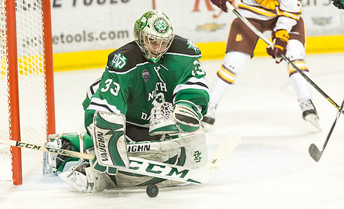 Cam Johnson (North Dakota-33) 16 Feb. 19 University of North Dakota and University of Minnesota Duluth meet in a NCHC conference match-up at the Ralph Engelstad Arena in Grand Forks, ND (Bradley K. Olson)