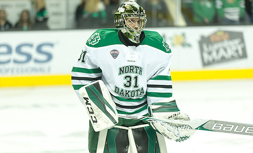 Matej Tomek (North Dakota-31) 16 October 8 Canisius and University of North Dakota meet in a non conference contest at the Ralph Engelstad Arena in Grand Forks, ND (Bradley K. Olson)