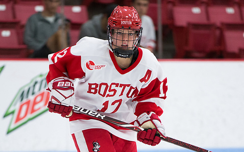Victoria Bach of Boston University. (Photo by Rich Gagnon) (Rich Gagnon/Boston University Athletics)