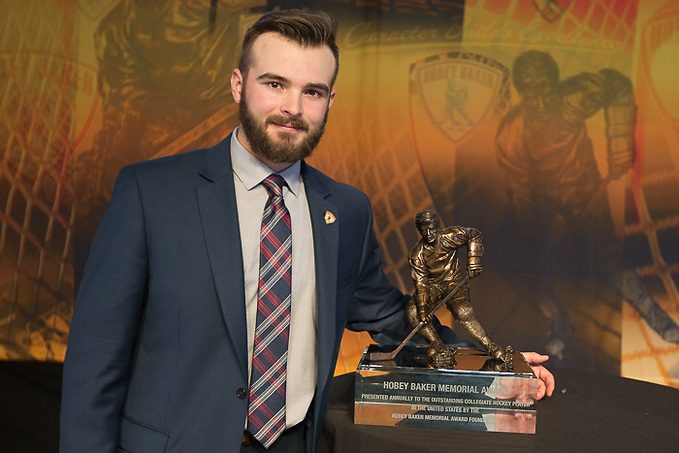 7 Apr 17:  The Hobey Baker Award Presentation at the Aon Ballroom on Navy Pier in Chicago, IL. (Jim Rosvold/Hobey Baker Award)