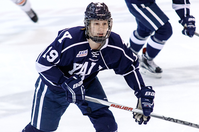 Courtney Pensavalle (Yale - 19). (Shelley M. Szwast)