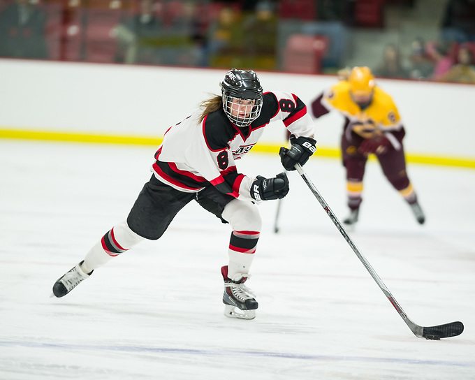Carly Moran of Wisconsin-River Falls (Kathy Helgeson)