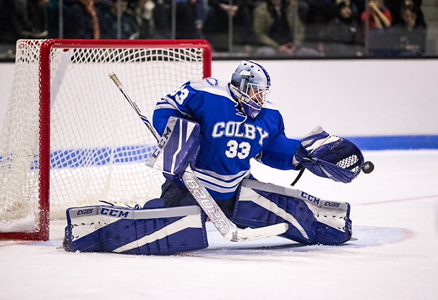 Sean Lawrence of Colby College (Dustin Satloff/Colby Athletics)