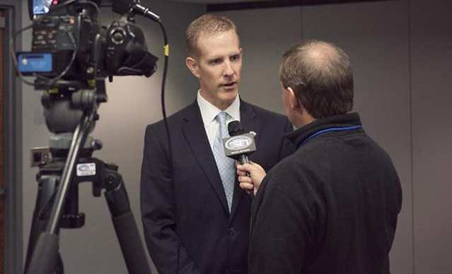 NCHC commissioner Josh Fenton is more than pleased with the success of the league over its first five seasons and hopes more is to come. (photo: the NCHC)