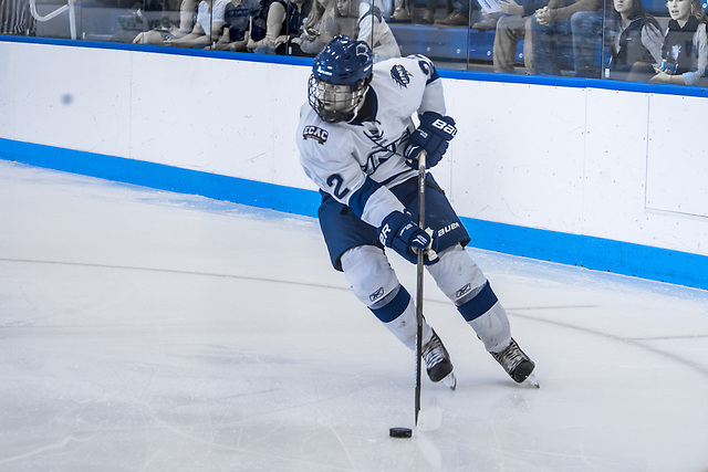Brady Fleurent of the University of New England (David Bates/Fotografix Studio/University of New England Athletics)