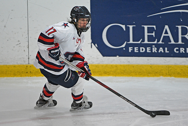 Jaycee Gebhard of Robert Morris (Justin Berl/RMU Athletics)