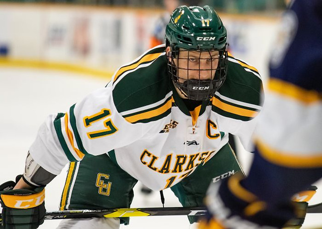 Nico Sturm (Connor Koehler/photo: Clarkson Athletics)