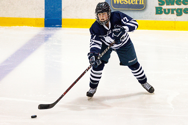 Madie Leidt of Middlebury (Will Costello/Middlebury Athletics)