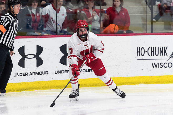 Maddie Rolfes of Wisconsin (David Stluka)
