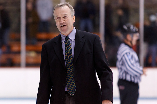 Dartmouth Head Coach Bob Gaudet (Dartmouth '81). (Shelley M. Szwast)