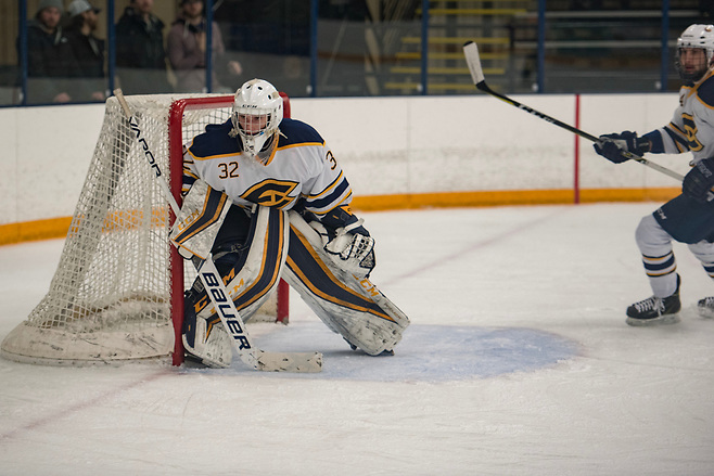 Zach Dyment of University of Wisconsin-Eau Claire (Matt Schrupp/UWEC Photo)