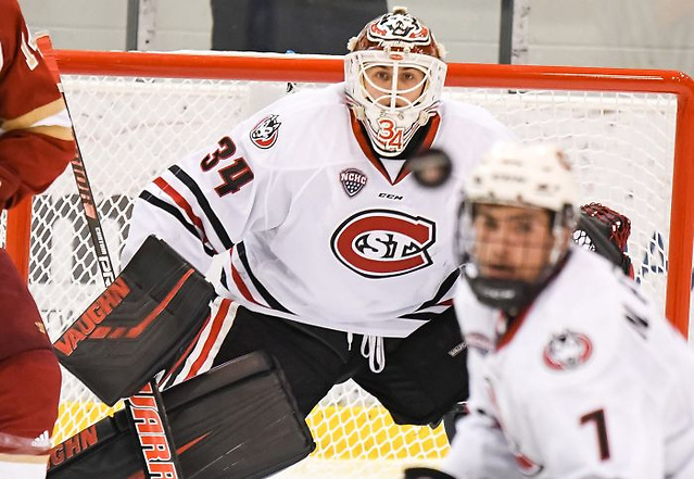 Dávid Hrenák (photo: St. Cloud State Athletics)