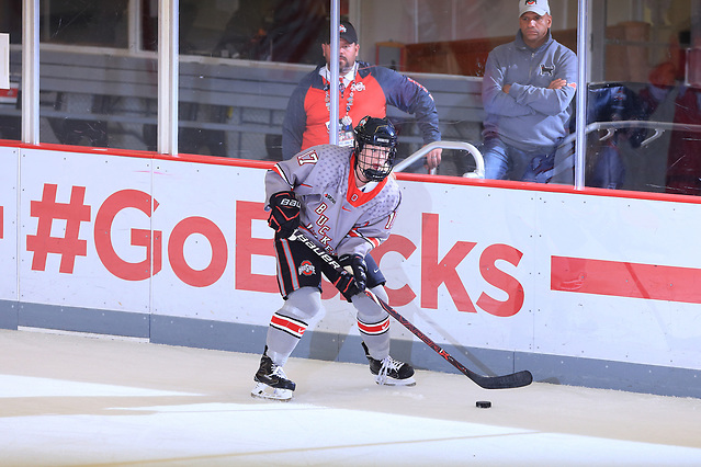 Emma Maltais of The Ohio State University women's hockey team. (www.BigTenPhoto.com / Walt Middleton Photography 2011)