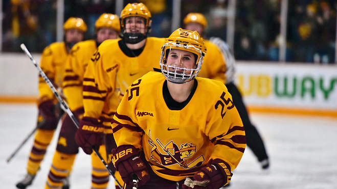Nicole Schammel of Minnesota (Minnesota Athletics)