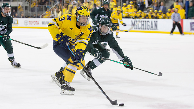 This Week in Big Ten Hockey: Playing with confidence since 2020 started, Michigan putting itself into conference contention