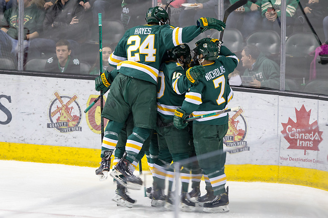 2018 November 17 The University of North Dakota hosts Western Michigan in a NCHC matchup at the Ralph Engelstad Arena in Grand Forks, ND (Bradley K. Olson)