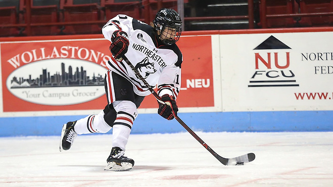 Alina Mueller of Northeastern (Northeastern Athletics)