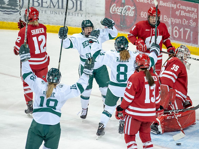 Bemidji women's hockey (Bemidji State Athletics)