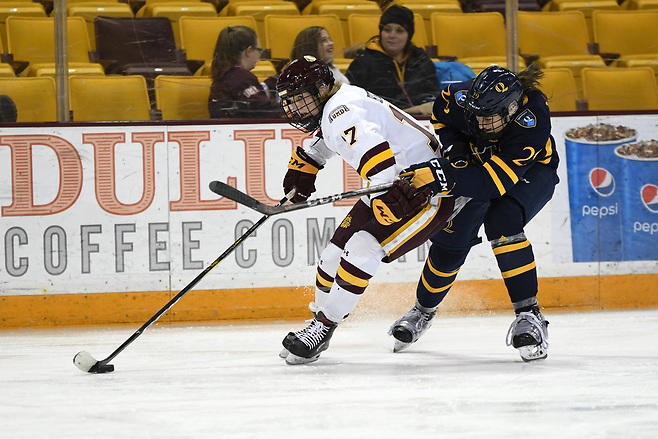 Gabbie Hughes of Minnesota Duluth (Minnesota Duluth Athletics)
