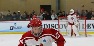 Hannah Kiraly of Plattsburgh (Mike Dickie)