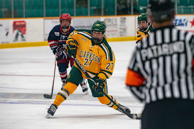 T.T. Cianfarano of Clarkson (Clarkson Athletics)