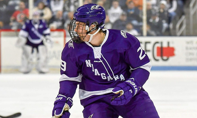Ludwig Stenlund (photo: Niagara Athletics)