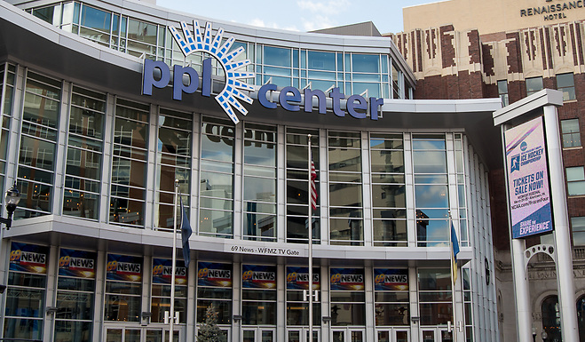 The PPL Center in Allentown, PA hosted the 2018 NCAA Midwest Regional (Omar Phillips 2017)