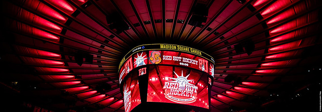Red Hot Hockey returns to Madison Square Garden this November (photo: Cornell Athletics)
