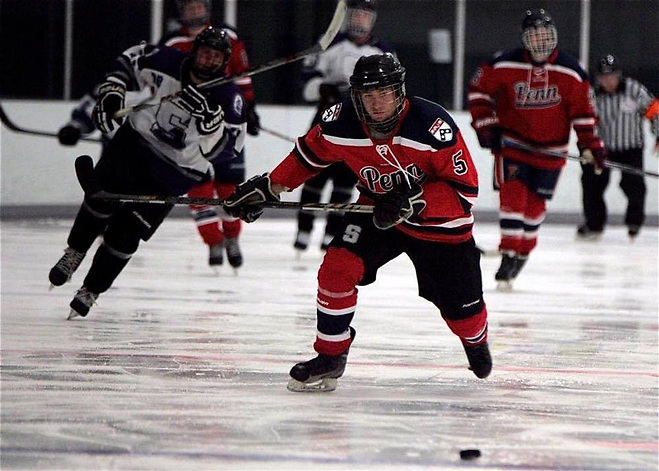 Penn has had club hockey for the past 41 years (photo: Penn Hockey)
