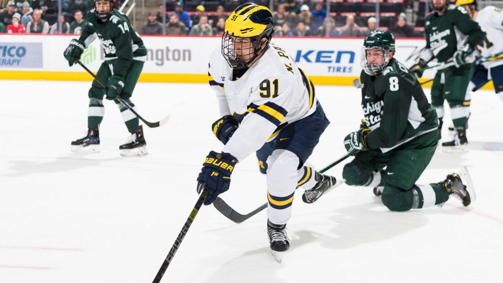 A new season, but a familiar issue plaguing Michigan: goal scoring