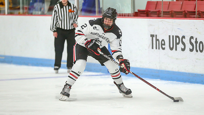 Chloé Aurard of Northeastern (Northeastern Athletics/Jim Pierce)