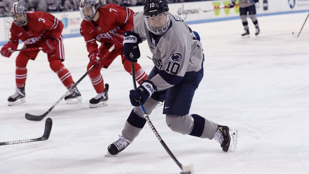 Monday 10: Ohio State plays wild series with Penn State, more chaos in Atlantic Hockey, Cornell continues red-hot start