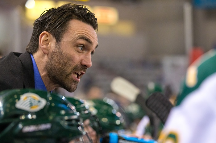 Curley contending with more than just WCHA in second season behind Alaska Anchorage bench