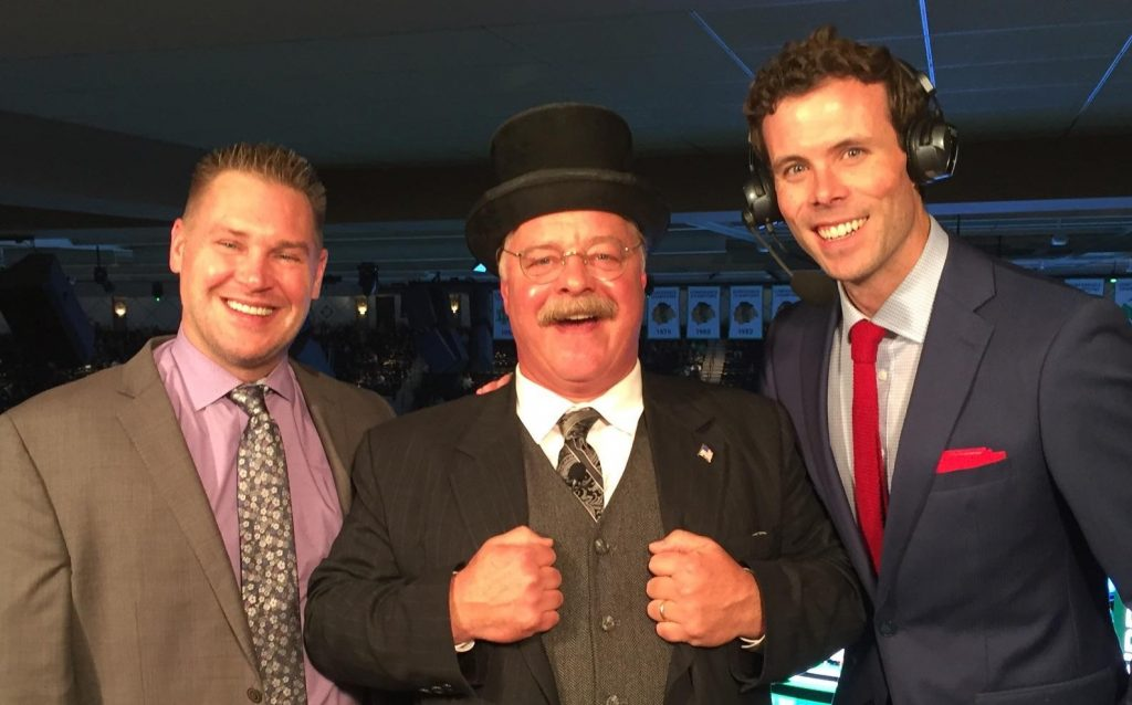 North Dakota gets in-arena treat over weekend with Teddy Roosevelt impersonator Wiegand